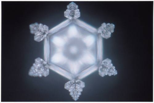 'Eternity' captured in water crystal [Masuru Emoto]