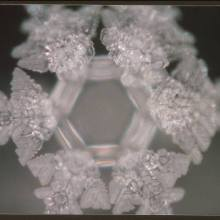 'Photo of Sun' captured in water crystal [Masuru Emoto]